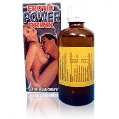 EROTIC POWER DRINK- 100ml - Krople Seksu!