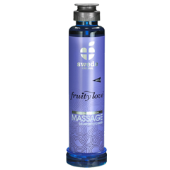 Fruity Love MASSAGE- Blueberry/Cassis - 200 ml