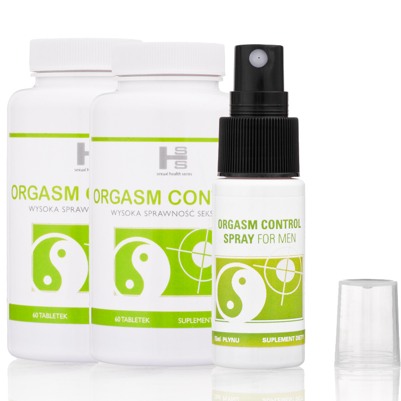 2op. Orgasm Control 120tab + Spray 15ml GRATIS!