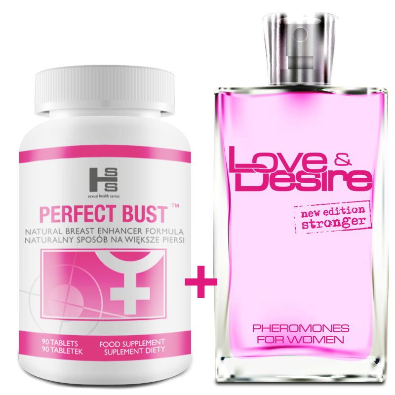 Promocja Wiosenna Perfect Bust 90tab  LoveampDesire 100ml