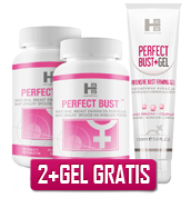Zestaw 2op. Perfect Bust - 180 tab + 150ml Gel GRATIS!
