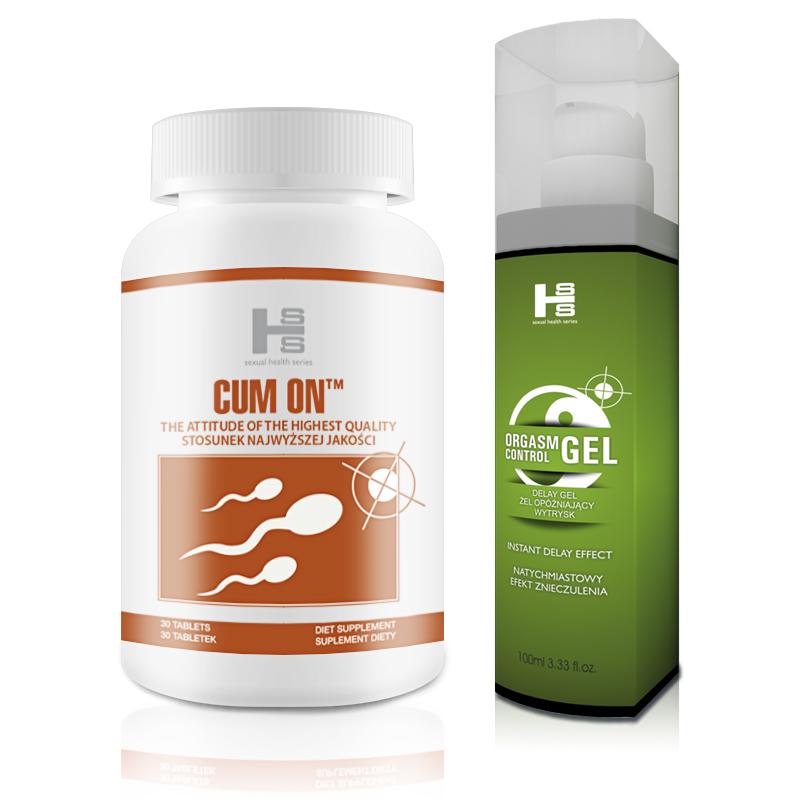 CUM ON 30tab  OC gel - Stosunek najwyższej jakości