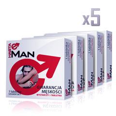 5x HASTA MAN  5 w cenie 4! 1 opakowanie GRATIS
