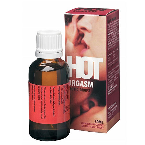 Hot Orgasm Erotic Drops - 30ml - Będzie Cię Błagał