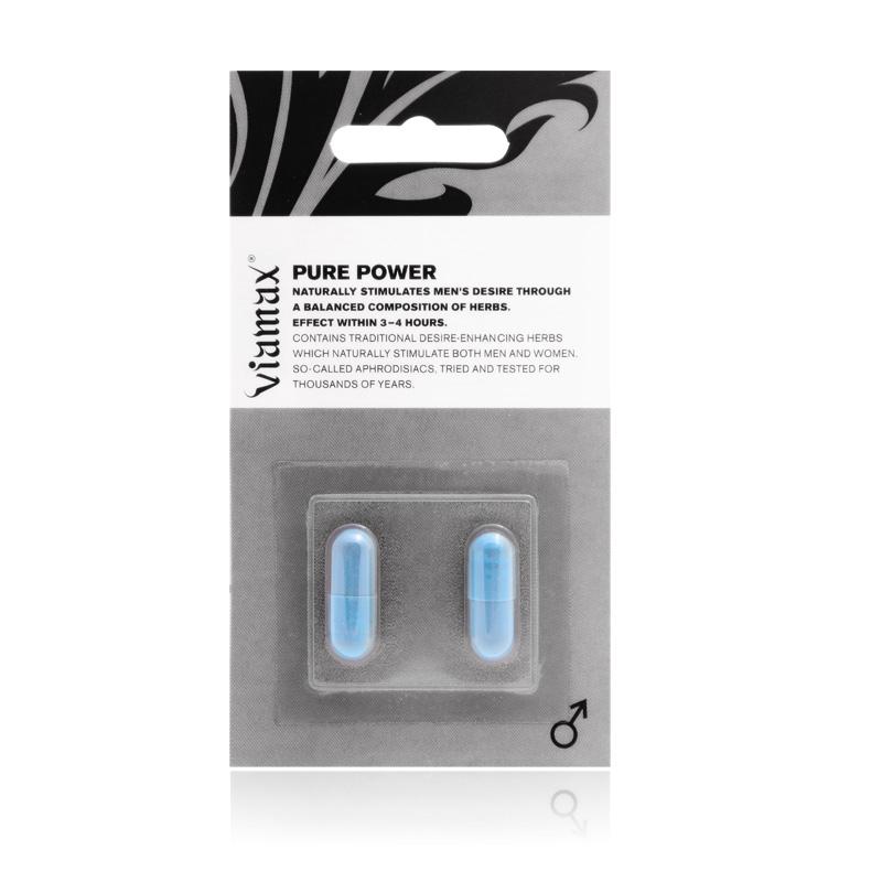 Viamax Pure Power - 2 kapsułki - LEPSZE NIŻ WIAGRA!