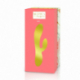 Rianne S ESSENTIALS - Xena Rabbit Vibrator Peach & Coral