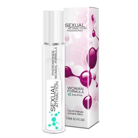 Sexual Attraction Pheromones - Woman Formula 5-alpha - 15ml