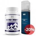Potency therapy 60 tab + Potency Gel 100ml -  silna erekcja