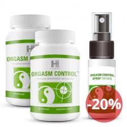 Orgasm Control 120tab + 15ml - 2msc-a kuracja!