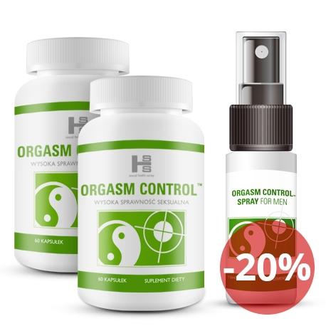 2op. Orgasm Control 120tab + Spray 15ml GRATIS!