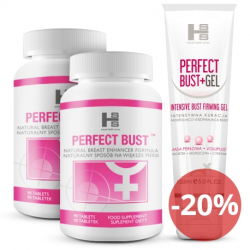 2x Perfect Bust 180 tab + 150ml