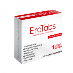 EroTabs - 5 kapsułek erekcyjnych (4+1 gratis)