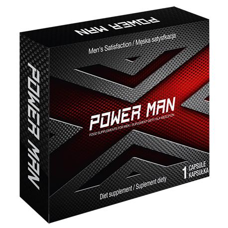 PowerMan! Prawdziwa siła erekcji w kapsułkach! - 2 kaps.