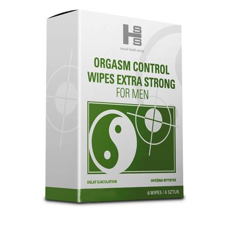 OC Wipes (6szt.) - chusteczki przedłużające stosunek - HIT 2015
