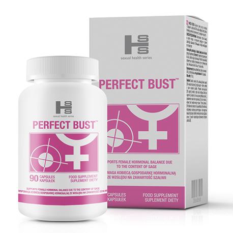 PERFECT BUST - 90tab - tabletki stymulujące wzrost piersi