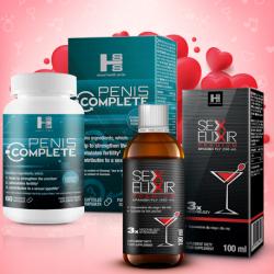 Penis Complete + Sex Elixir Premium - zestaw walentynkowy!