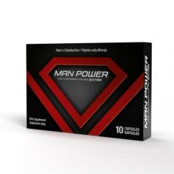 ManPower! Prawdziwa siła erekcji w kapsułkach! - 10 kaps.