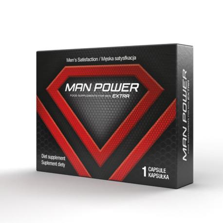 ManPower! Prawdziwa siła erekcji w kapsułkach! - 1 kaps.