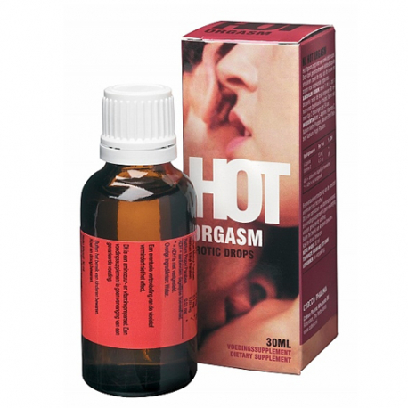 Hot Orgasm Erotic Drops - 30ml