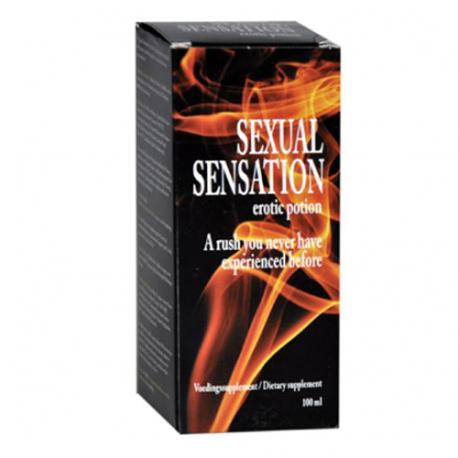 SEXUAL SENSATION - 100ml - Seksualne Szaleństwo