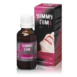 Yummy Cum Drops - 30ml - Polepsza Smak Spermy