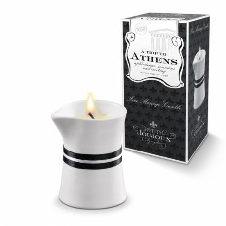 Petits Joujoux Fine Massage Candles - A trip to Athens