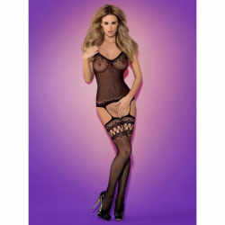 Bodystocking F214 czarne S/M/L