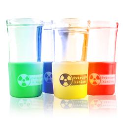 *Świecące Szklane Kieliszki - 4 kolory