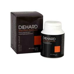 Diehard 60 tab. - Mocna erekcja i sprawność seksualna