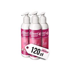 ZESTAW 3x VIAMAX BREAST CONTROL - 3 x 180ML