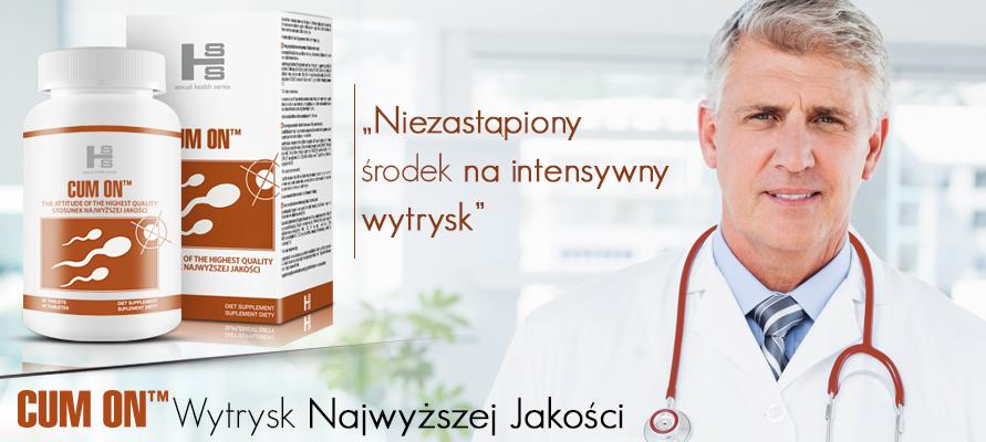 Cum On tabletki banner - Niezastąpiony środek na intensywny wytrysk