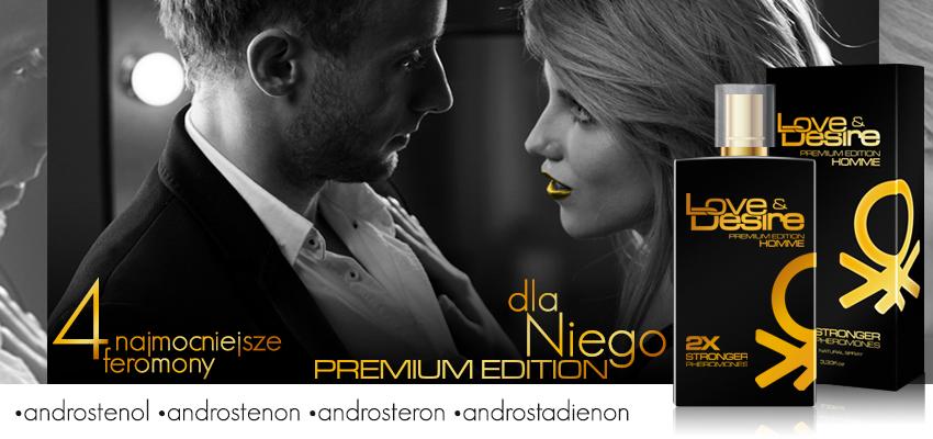 Love&Desire Gold 100ml dla mężczyzn - PREMIUM EDITION!