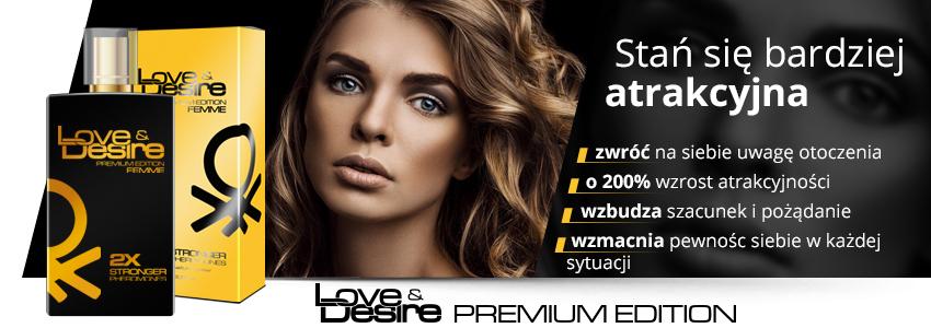 Love&Desire Gold 100ml dla kobiet - PREMIUM EDITION!