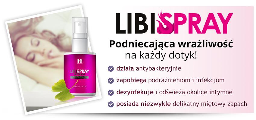 LibiSpray intensive 50ml - spray podniecający i zwężający!