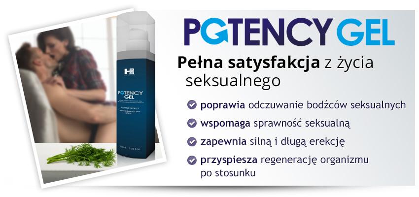 Potency Gel 100ml - doraźny lubrykant erekcyjny!