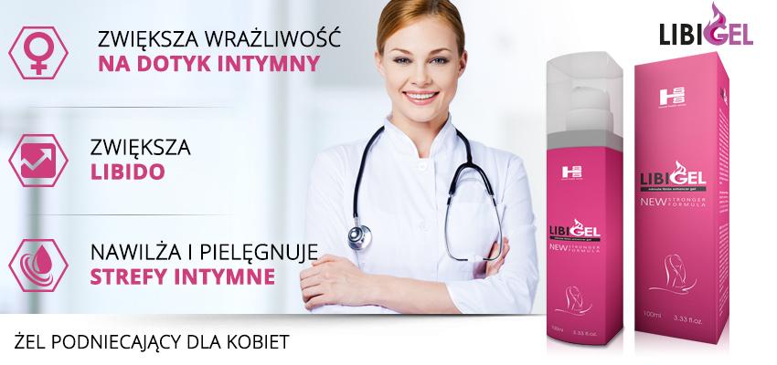 LibiGel - zwiększa wrażliwość na dotyk intymny, zwiększa libido, nawilża i pielęgnuje strefy intymne | Banner
