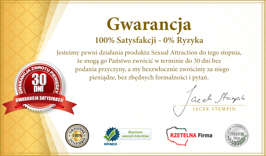 Sexual Attraction 15ml męskie - feromony z formułą 5-alpha!