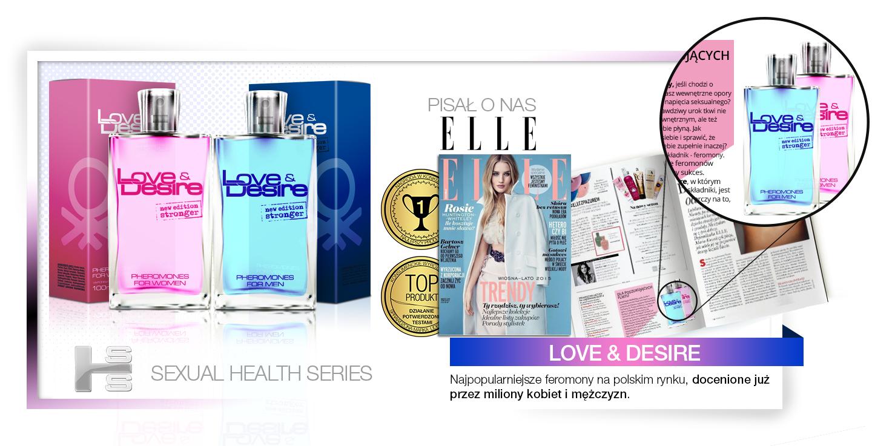 Love&Desire 50ml damskie feromony -  kobiece i uwodzicielskie!
