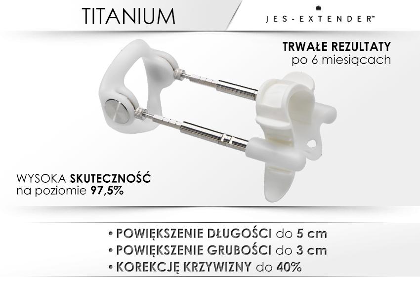 Titanium - najszybszy sposób na powiększenie penisa.