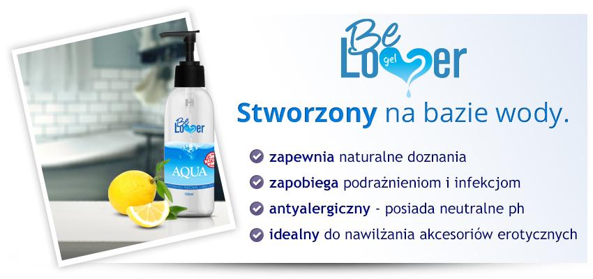 3x Be Lover Aqua (300ml) - antyalergiczny lubrykant na bazie wody