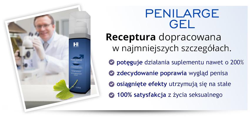 Penilarge Gel 100ml - funkcyjny żel na powiększanie penisa!