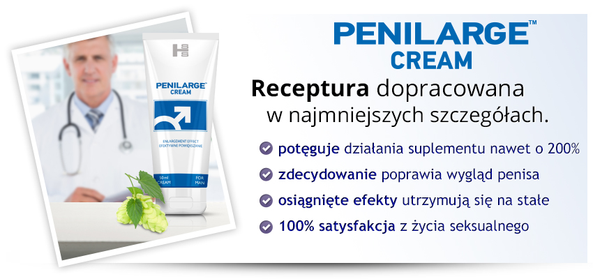 3x Penilarge Krem (150ml) - krem na powiększanie penisa!