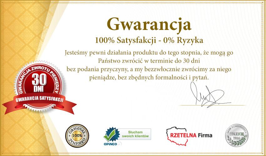 Gwarancja 100% satysfakcji ze stosowania produktu Viamea