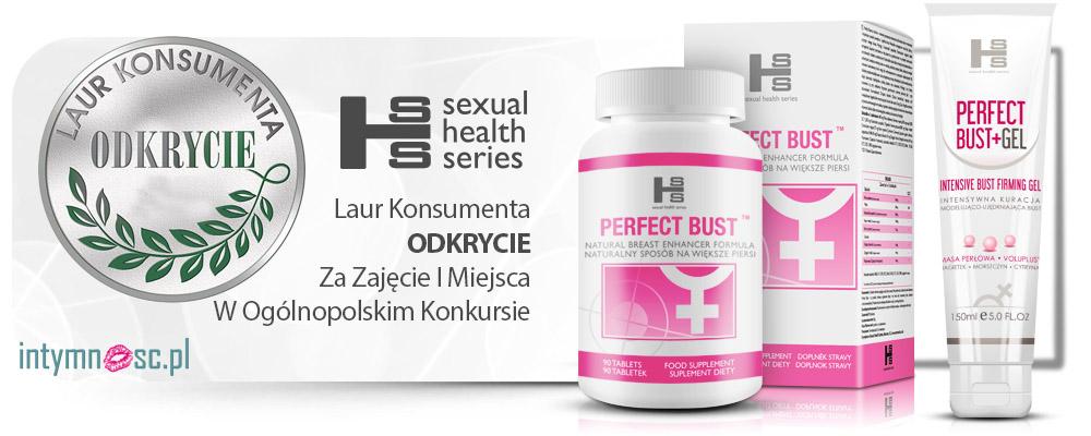 3x Perfect Bust (270ab) - tabletki stymulujące powiększenie piersi!