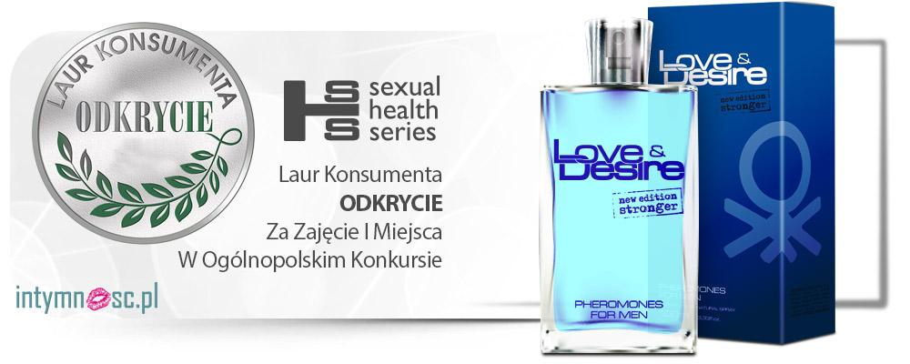 Love&Desire 100ml skuteczne męskie feromony - dominujący zapach!