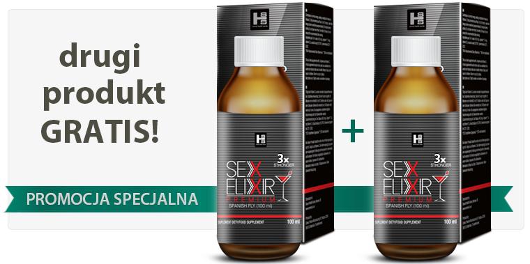 2x Sex Elixir PREMIUM 100ml - 2gi produkt gratis!