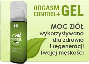 minimum 500 zł Orgasm Control + Gel - 100ml - Pełna Kontrola